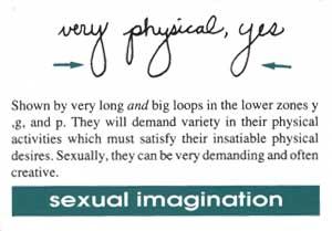 Handwriting analysis sexuality